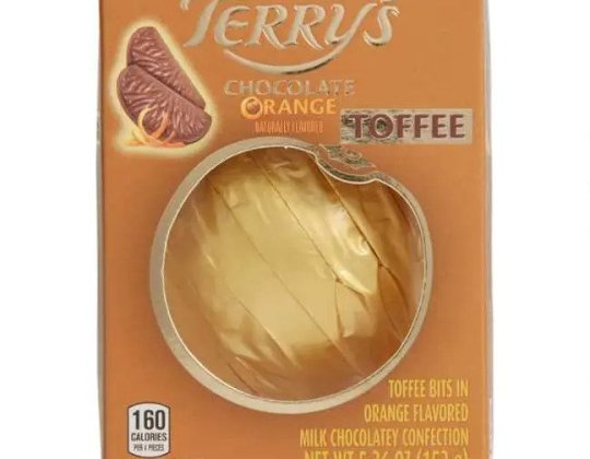 Terry's Toffee-Flavoured Chocolate Orange Is Now A Thing – And It Sounds Amazing