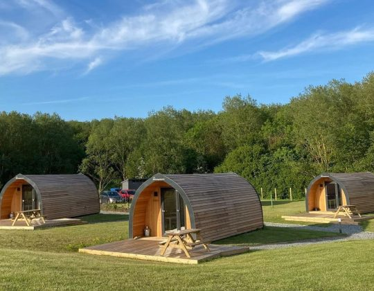 This Coastal Glamping Site Lets You Camp Next To A Vineyard By The Sea