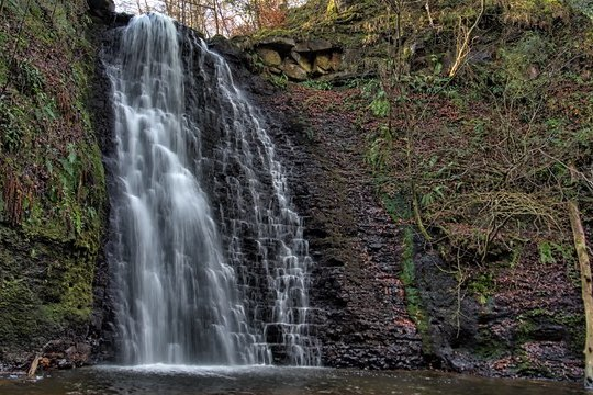 This Magical Woodland Walk Finishes At A Tea Garden Next To A 30ft Waterfall