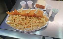 This Chippy Challenges You To Eat 2.5kg Worth Of Fish & Chips In One Hour