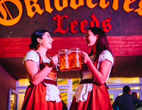 Enjoy Beers, Bratwursts & Brass Bands As Oktoberfest Returns To Leeds Next Month