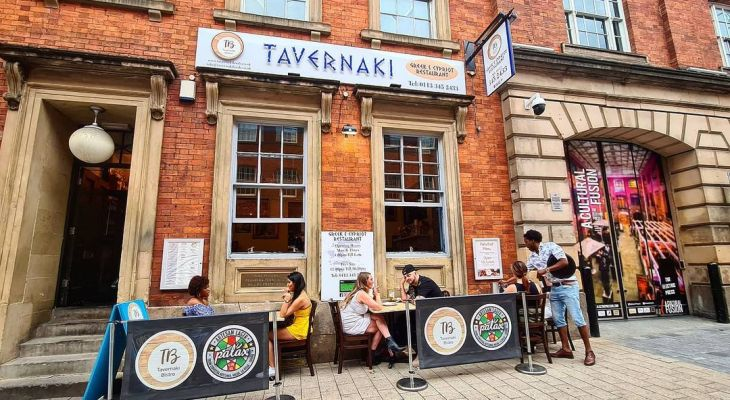 This Greek Bottomless Dinner In Leeds Is Serving Souvlaki With 90 Minutes Of Booze