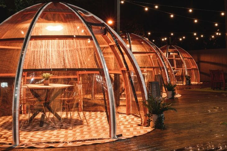 tipis and domes in Yorkshire