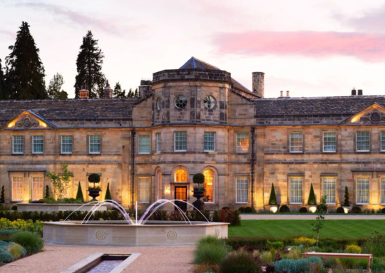 This North Yorkshire Hotel Is Just One Of Two Hotels In The UK To Receive AA 5-Star