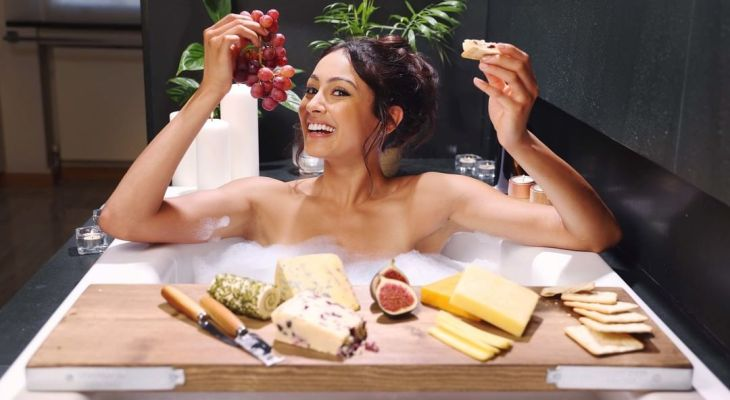 Iceland Has Launched The 'World's-First' Cheese Board Bath Rack – And It's Incredible