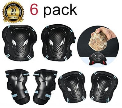 TBNO1 Roller Skating Knee Pads Childrens Knee Pads Elbow Pads Wrist Elbow Protective