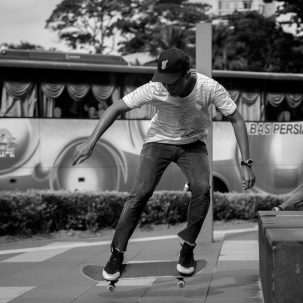 Eric - air at Ampang LRT Park