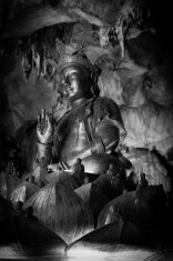 Statue at Kek Lok Tong Cave Temple.
