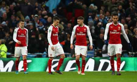 Arsenal star ruled out for the remainder of the season