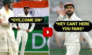 WATCH: A pumped up Virat Kohli urges Team India Fans to cheer
