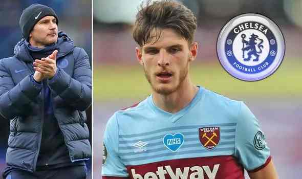 West Ham look to fend off Chelsea interest Rice with bumper contract extension offer