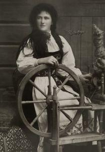 Norwegian spinner & wheel