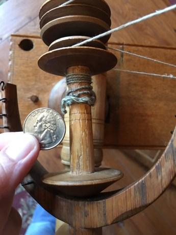 Flax wheel Bobbin