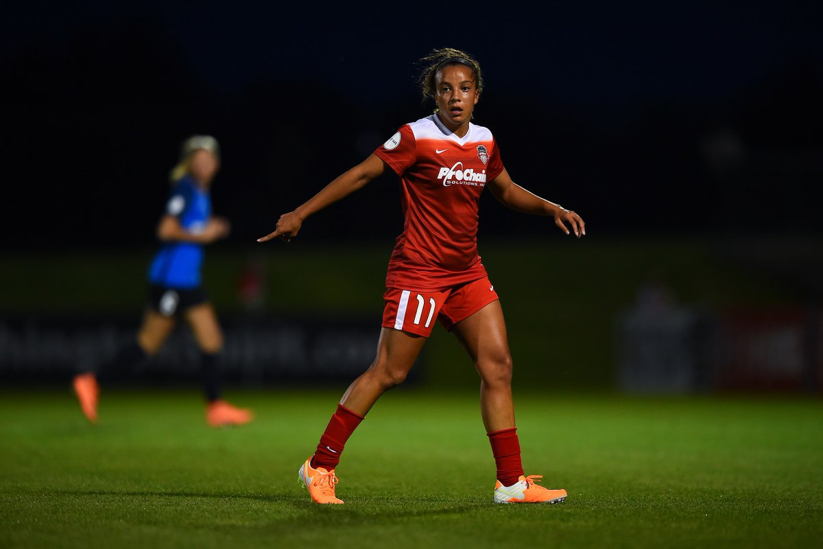 Watch Mallory Pughs First NWSL Goal
