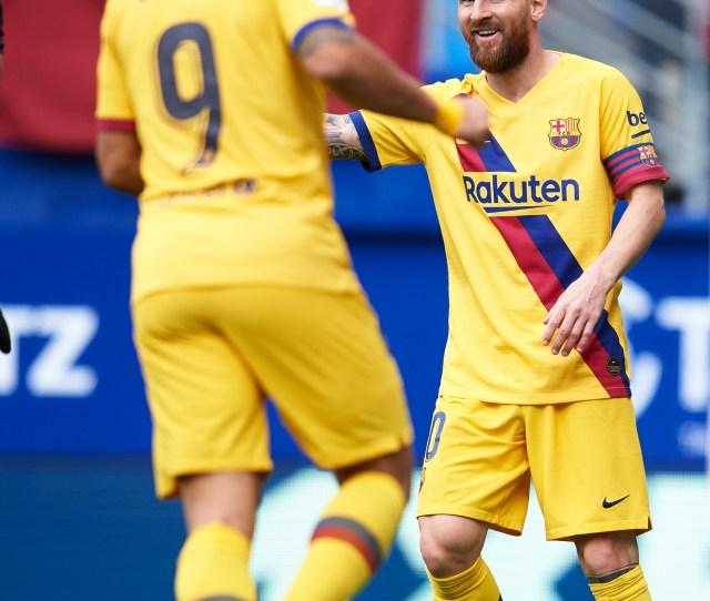Barcelona Vs Eibar Highlights Msg All Score In Easy Win