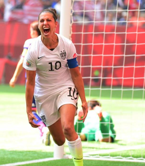 Carli Lloyd   The Definitive Player Guide   The18