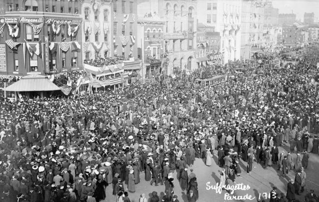 women's suffrage march 1913