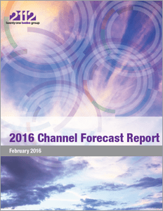 2016 Channel Forecast
