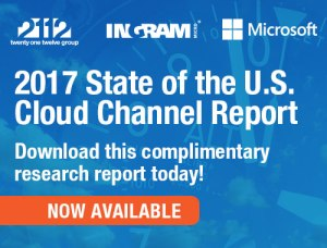 2017 State of the U.S. Cloud Channel Report