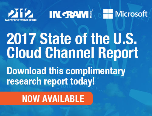 2017 State of the U.S. Cloud Channel Channel