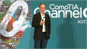 Larry Walsh at ChannelCom