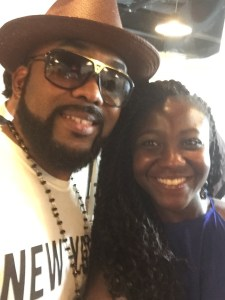 Binta & Banky W. at the TDMP premiere in NYC