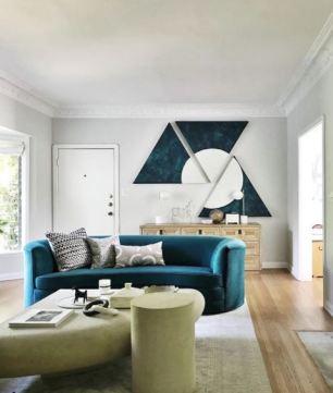 Orlando Soria's living room