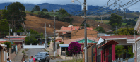 Street view in Costa Rica