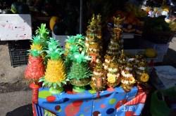 正月飾り、パイナップルは飴玉