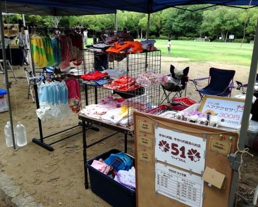手作り犬服の「ファイブワン」さん。富士宮からの出店です。
