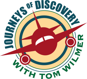 Journeys of Discovery with Tom Wilmer Apple Podcast and NPR One album art