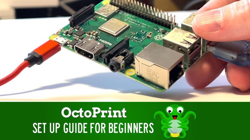 Octoprint Setup Guide for Beginners