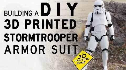 3D Printed Bulletproof Stormtrooper