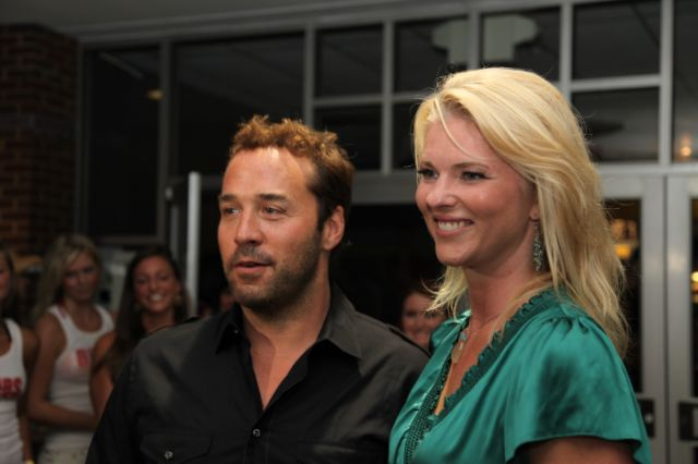 Corinna with Jeremy Piven