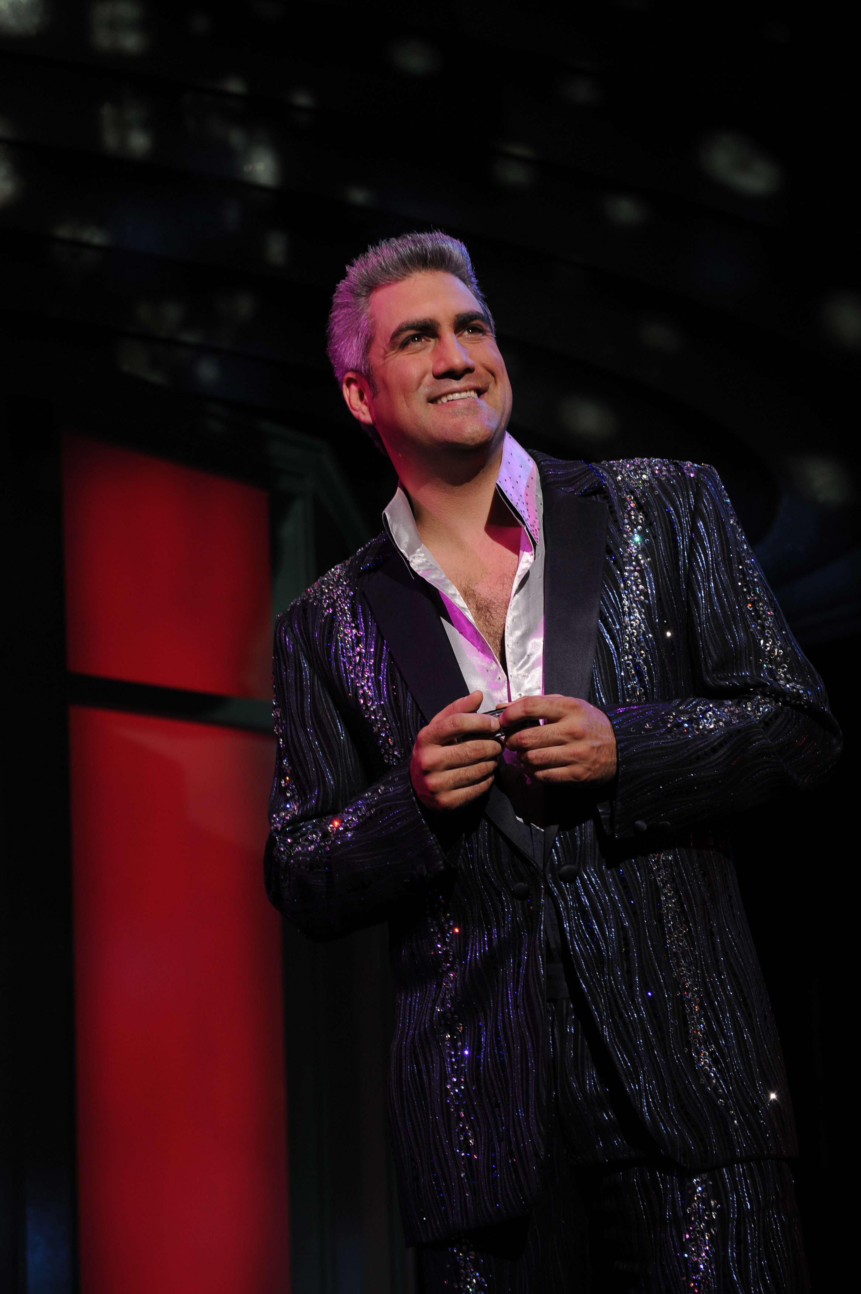 Taylor Hicks in GREASE --  Photo by Larry Busacca