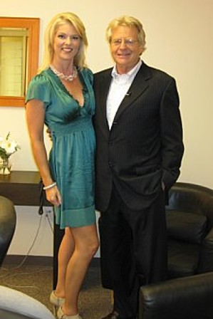 Corinna with Jerry Springer