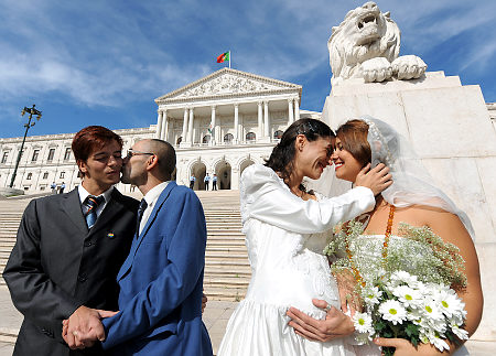 PORTUGAL-GAY-MARRIAGE