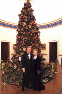 The Clintons in 1999