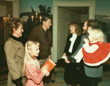 Dutchman Tree Farms provided the National Christmas Tree for President Ronald Reagan and First Lady Nancy
