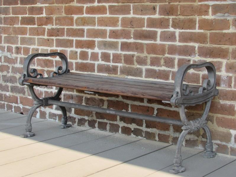 Bench in Savannah