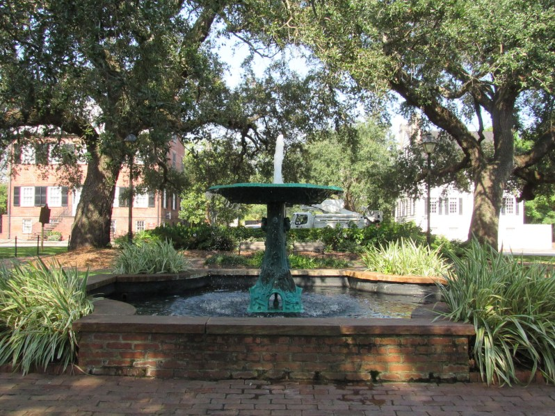 Columbia Square-Wormsloe Fountain