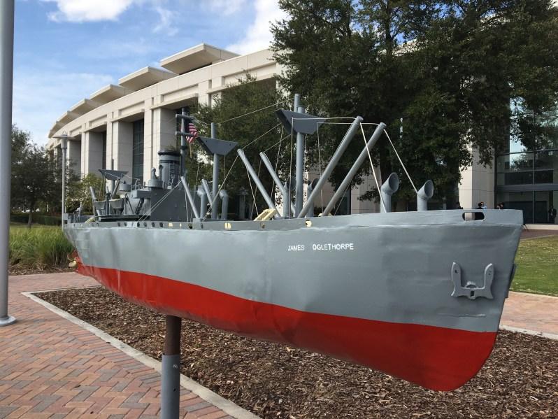 Liberty Ship model
