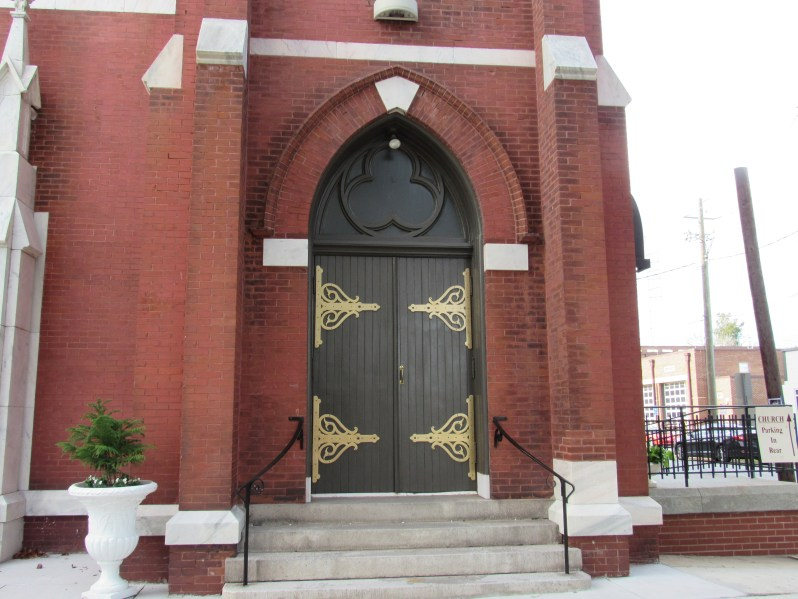 Historic Church door