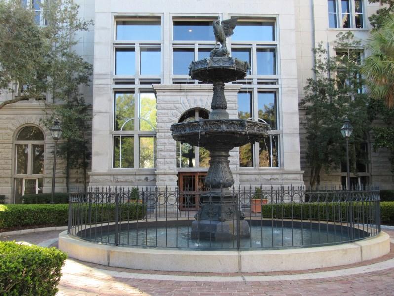 Justice Complex Fountain