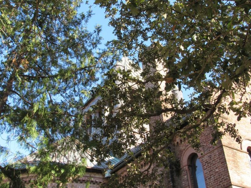 Historic church tower