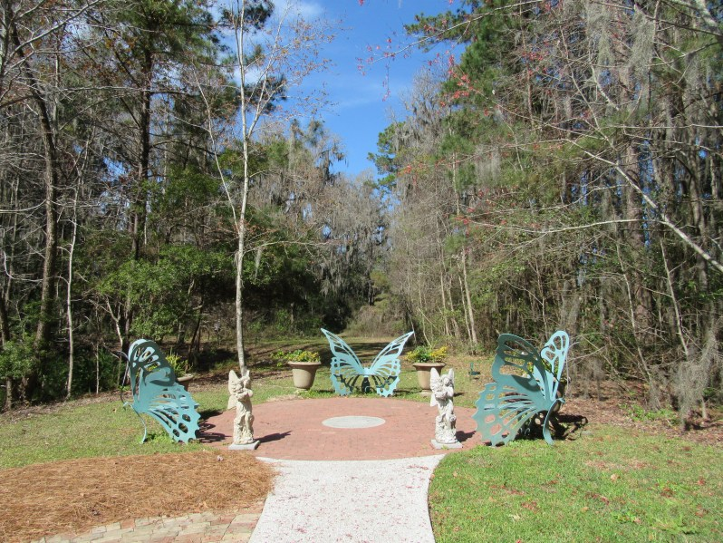 Butterfly benches
