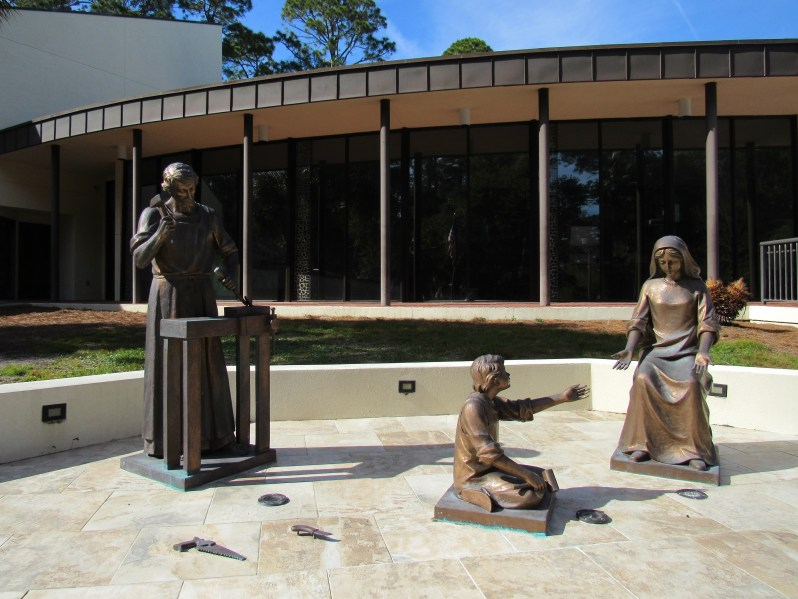 Holy Family Bronze Sculptures