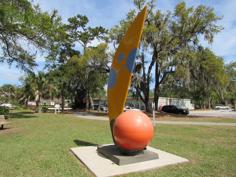 Sail Away Sculpture