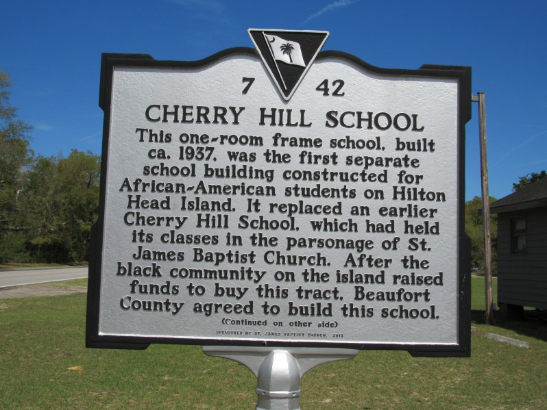 Cherry Hill School National Historic Marker