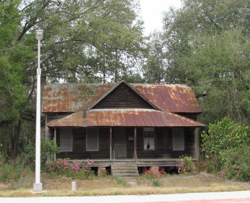 Pine wood home